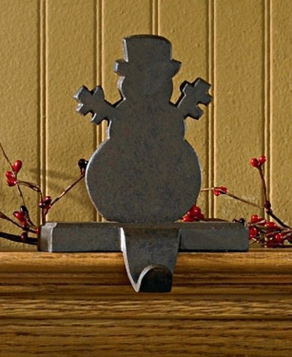 Abuse In-depth Snowman christmas stocking holder for