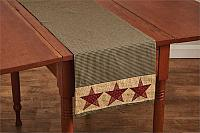 Country Star Reversible Table Runner 13x54