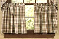 Thyme Tier Curtains 72WX24L