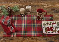 Wonderland Plaid Ribbed Placemat