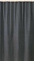 Navy Sturbridge Plaid Shower Curtain